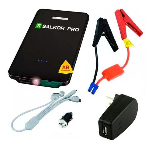 arrancador auto moto cargador portatil bateria celular table