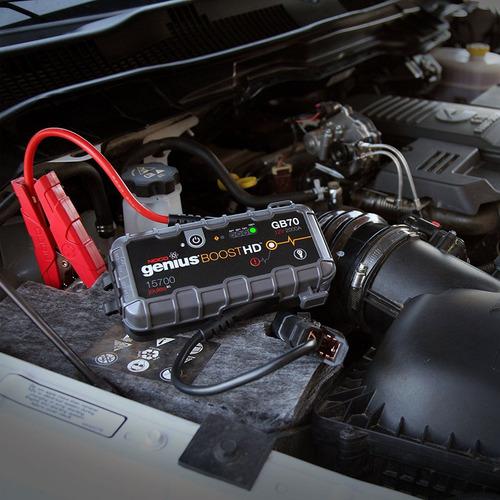 arrancador booster profesional bateria carro noco gb70 hilux
