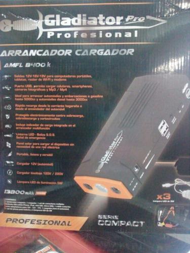 arrancador / cargador para auto gladiator modelo amfl 8400