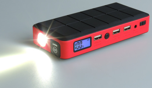 arrancador de bateria- auto y cargador de celular tablet etc