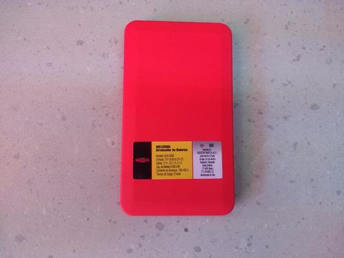 arrancador de baterías jumper 8000 mah mjs-8000 mikels