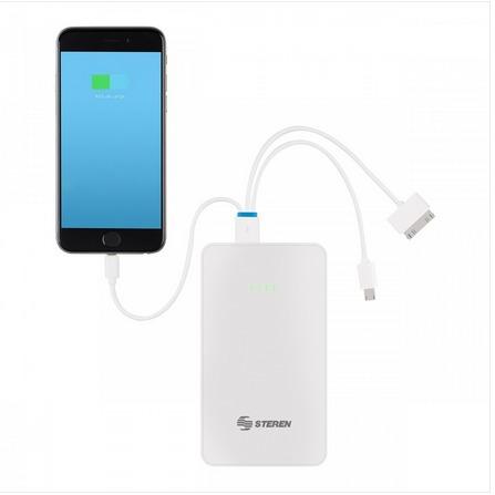 arrancador para auto y batería de respaldo para smartphones