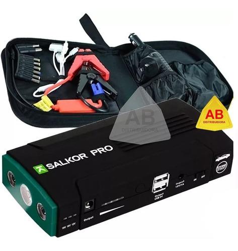 arrancador portatil auto cargador celular bateria 13.800 ma
