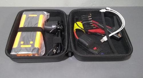 arrancador portatil auto cargador celular lusqtoff pq500
