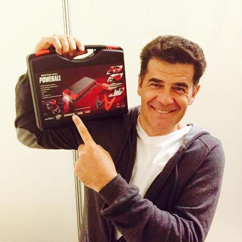 arrancador portatil auto moto lancha cel sonomax powerall