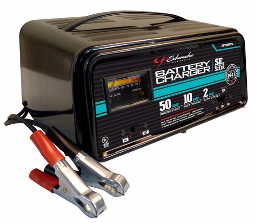 arrancador/cargador baterias automatico schimacher se-1275a