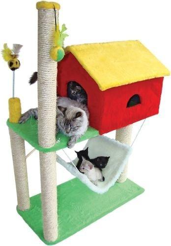 arranhador gatos.. gatos
