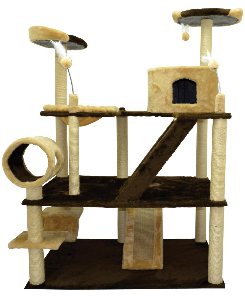 Arranhador p gato olimpus gigante casa house casinha - Casa para gato ...