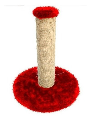 arranhador poste grande postte de cm pelúcia e sisal top