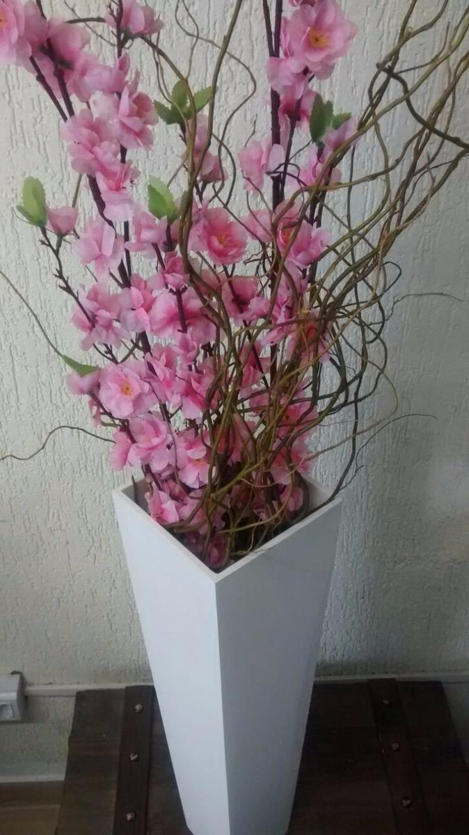 Arranjo De Ch\u00e3o Decorativo Flores Artificiais Bonito ...