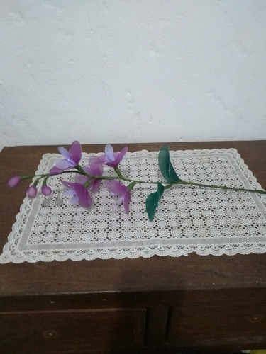 arranjo decoração orquídea multi cor  lilás  violeta