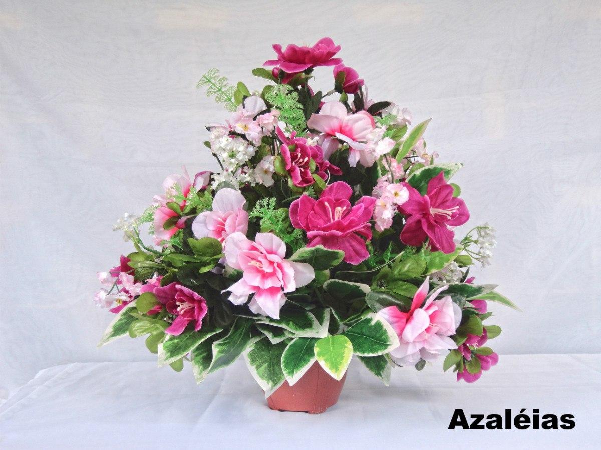 Arranjo Floral Flores Artificiais De Seda vários Arranjos R$ 95,00 em Mercado Livre # Decoração Arranjos De Flores Artificiais