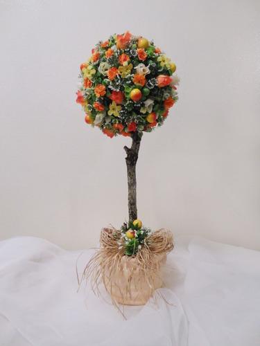 arranjo floral - topiaria