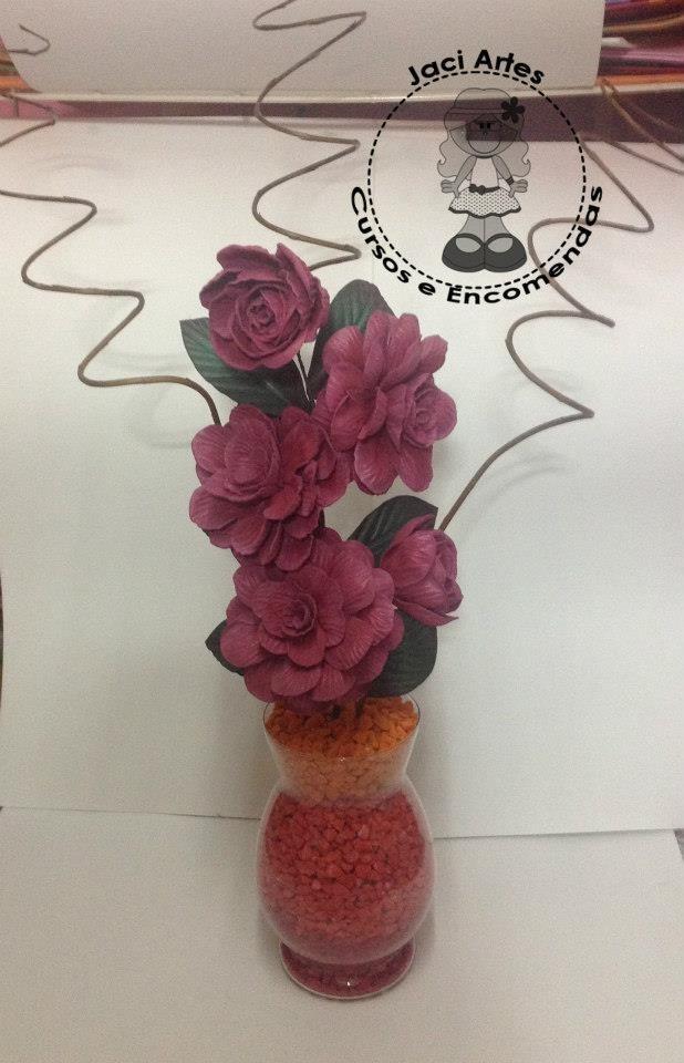 Arranjos De Flores Em Eva - R$ 25,00 em Mercado Livre