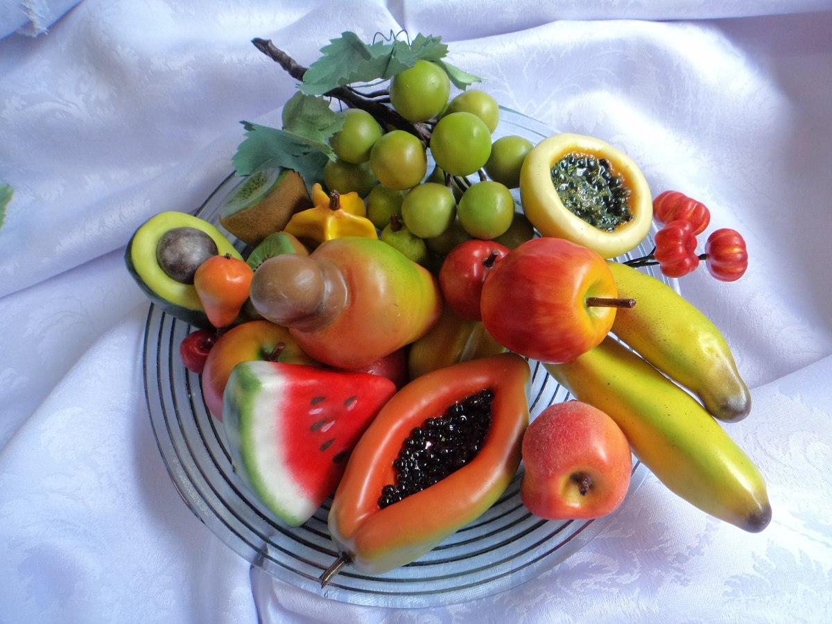 Arranjos De Frutas Artificiais Para Mesa - R  370 7be7285f888