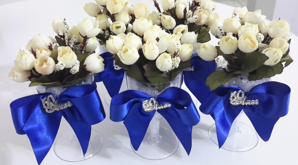 Arranjos Para Centro De Mesa Casamentos 15 Anos aniversário R$ 18,00 em Mercado Livre -> Enfeites De Mesa Para Casamento Azul E Branco