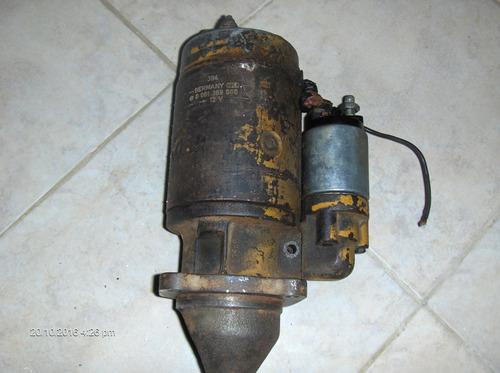 arranque bosch 0 001 369 006 . 12v. made in germany. usado.