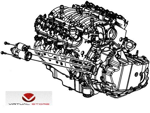 arranque gm impala ss 2007 2008 5.3 v8 | acdelco orig import
