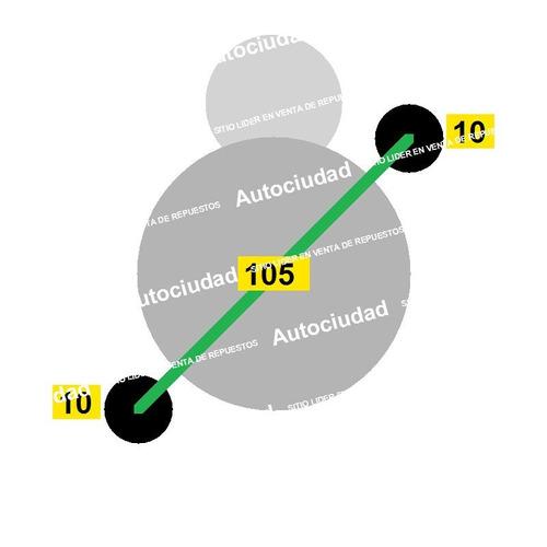 arranque hyundai sonata 1.8i / 2.0i motor naftero cuotas