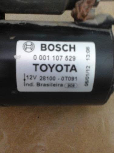 arranque motor de partida corolla 2.0 bosch original