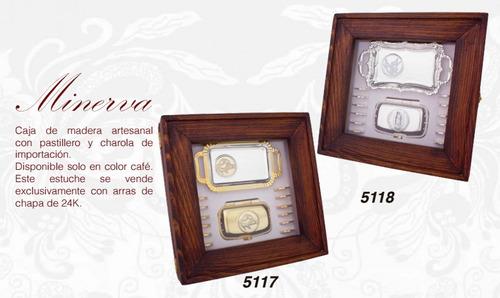 arras de lujo de chapa de oro de 24k envio sin costo!