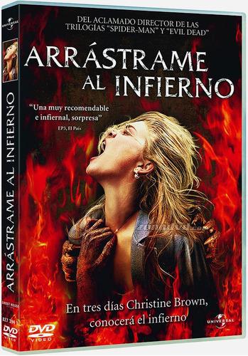 arrastrame al infierno (dvd) terror no resident evil