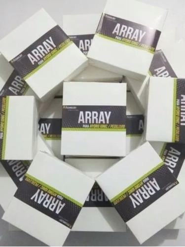 array, filtro, repuesto de desintoxicador ionico 60 sesiones