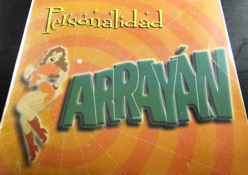 arrayán - personalidad nuevo cerrado importado de usa