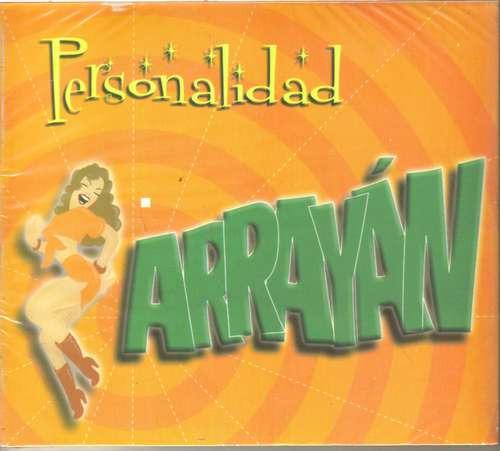 arrayan - personalidad ( rock latino de guadalajara) cd rock