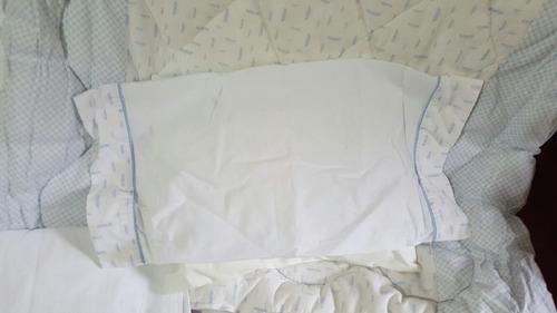 arredo sábanas acolchado chichonera varon