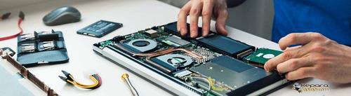 arreglo de computadores mesa y portatiles