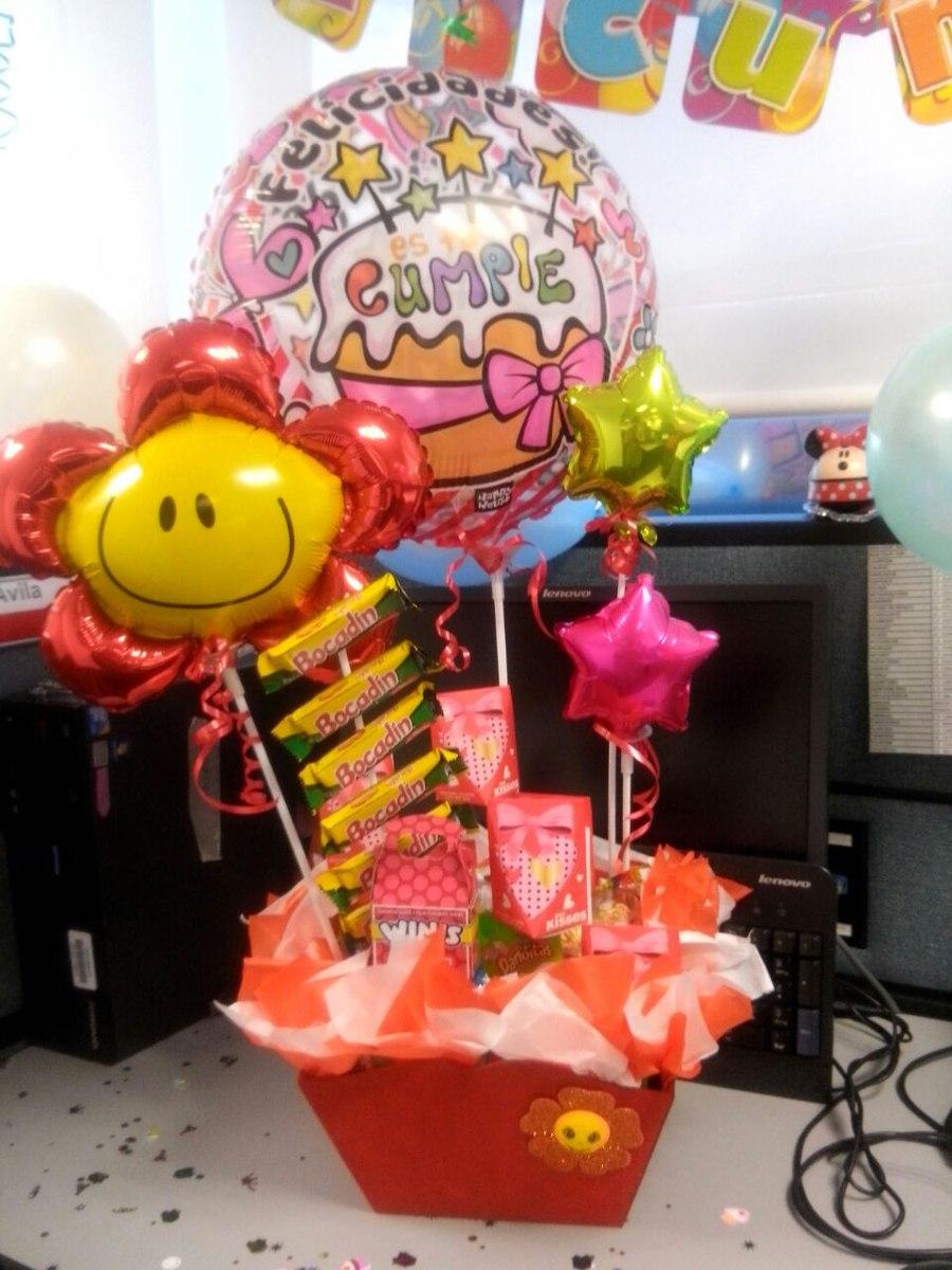 Arreglo de globos cumplea os amistad amor en mercado libre - Imagenes de decoracion ...