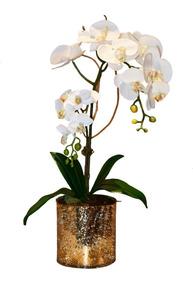 Arreglo De Orquídeas Artificial De Seda