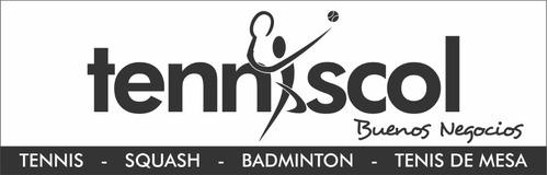 arreglo de raquetas de tenis squash babolat wilson head