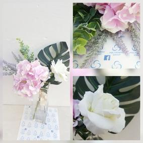 Arreglo Floral Artficial Regalo Decoración Centro De Mesa