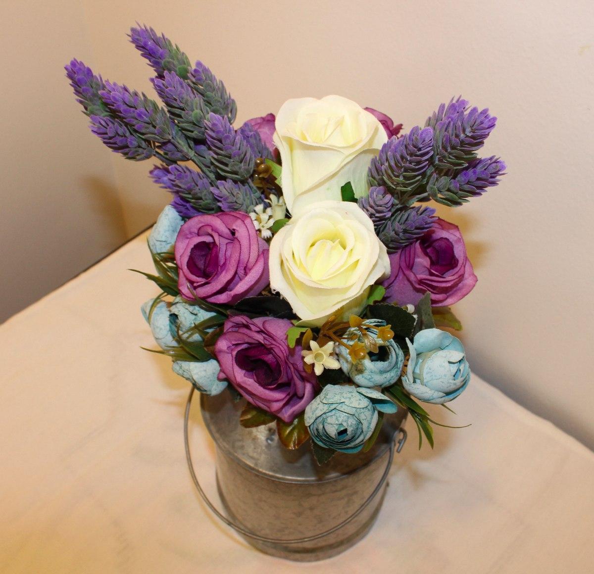 Arreglo floral centro de mesa flores artificiales lechero 39900 arreglo floral centro de mesa flores artificiales lechero cargando zoom altavistaventures Image collections