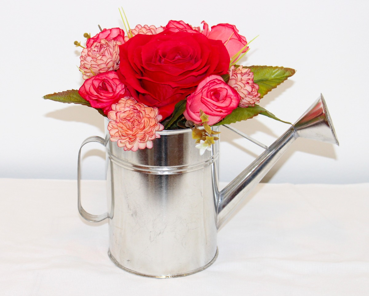 Arreglo floral centro de mesa regadera flores artificiales arreglo floral centro de mesa regadera flores artificiales cargando zoom thecheapjerseys Image collections