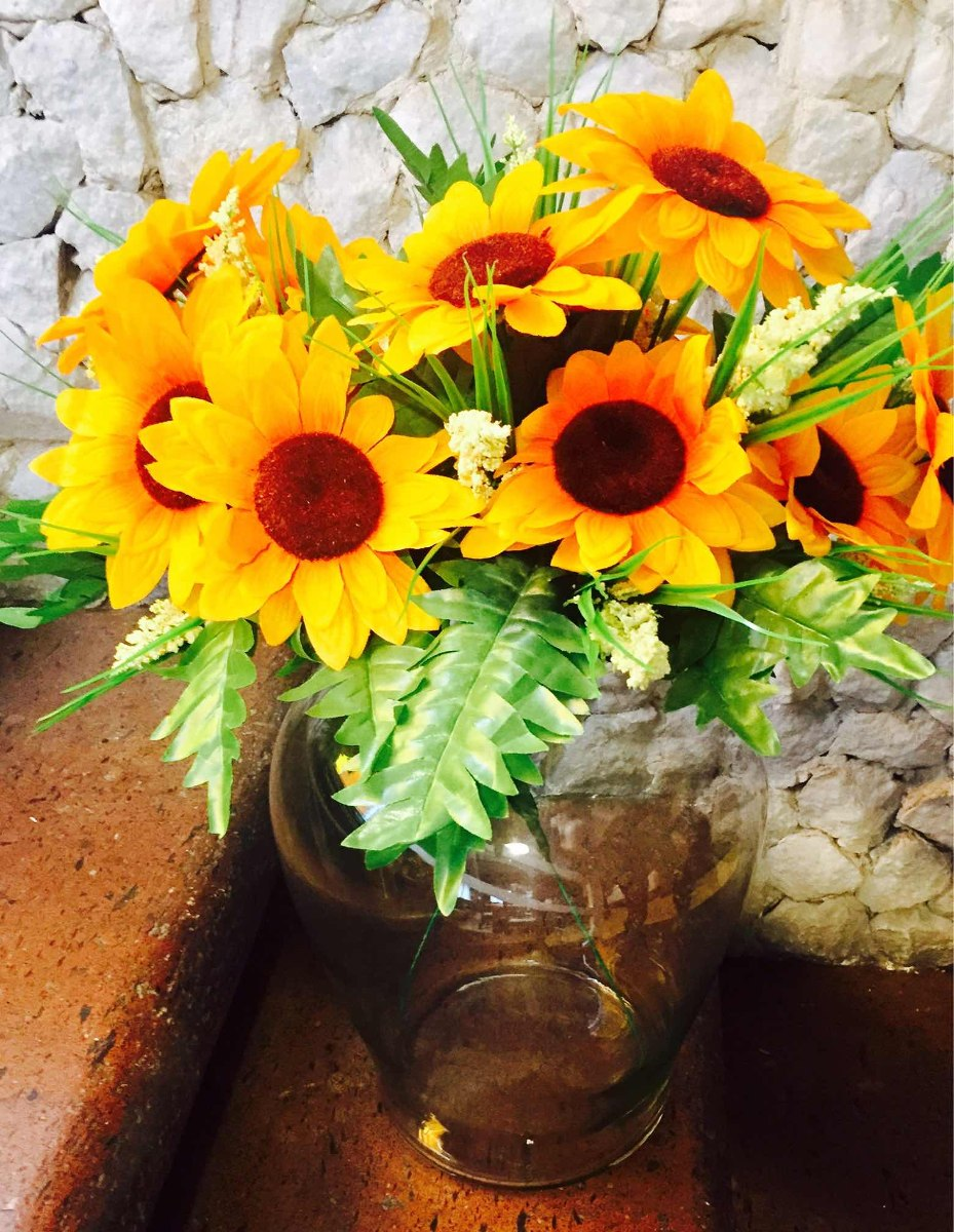 Arreglo Floral Con Girasoles Envío Gratis Cdmx
