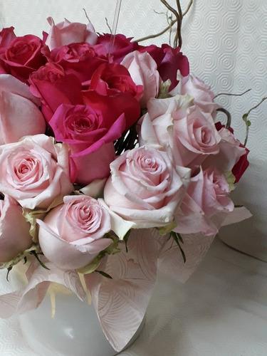 Arreglo Floral Natural De 50 Rosas Envío Gratis En La Cdmx