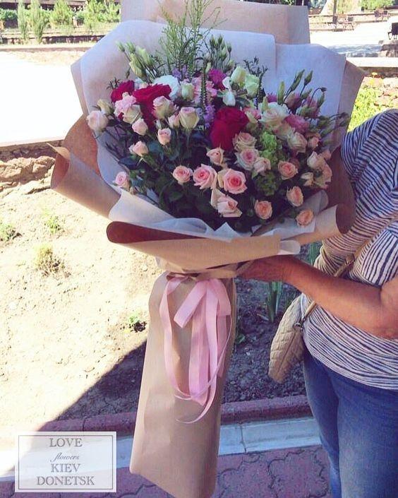 Arreglo Floral Ramo De Rosas Gerberas