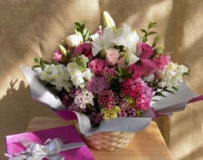Arreglo Floral Ramo Flores Centro De Mesa San Valentin
