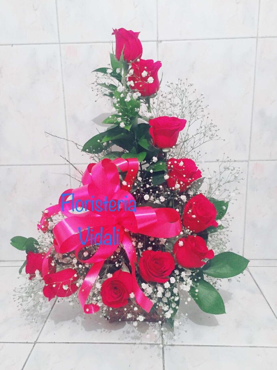 Arreglo Floral Rosas Envio Gratis