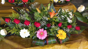 Arreglo Floral Rosas Gerberas Lilis Cumpleaños Cdmx Df