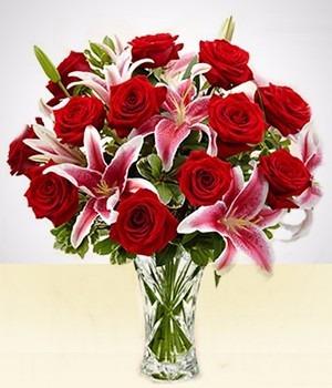 Arreglo Floral Rosas Importadas