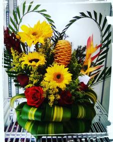 Arreglo Flores Cumpleaños Aniversario Día De Las Madres