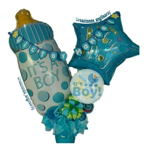arreglo globos regalo cumpleaños aniversarios con chucherías