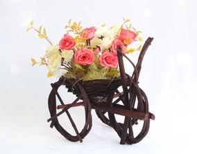 Arreglo Original Centro De Mesa Boda Xv Años Incluye Flores