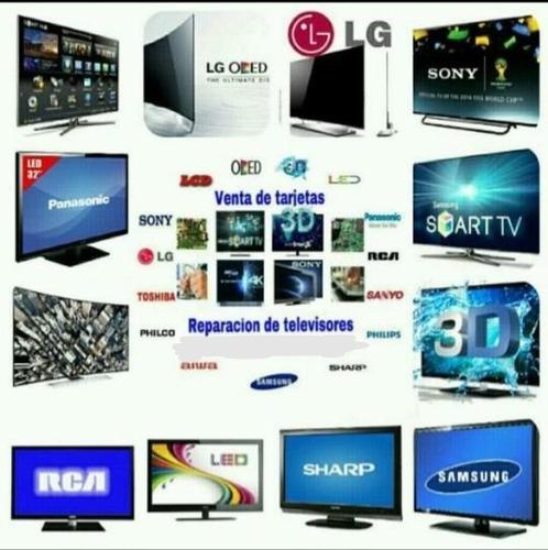 arreglo y venta de tv led, lcd, plasma oled