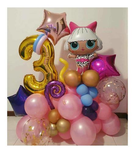 arreglos con globos cumpleaños graduación aniversario