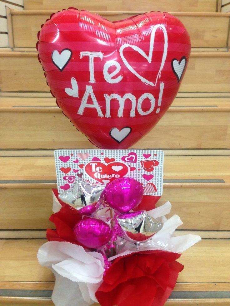 Arreglos Con Globos Y Peluches 14 De Febrero San Valentin Bs